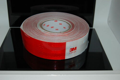3M Reflective Adhesive tape 983D, Conspicuity Tape HGV, Truck Trailer,5cm Wide