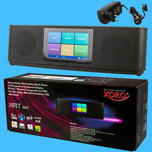 Internet-Radio-Web-Media-Player-XORO-HMT-200-Android-Wlan-Bluetooth-Internet