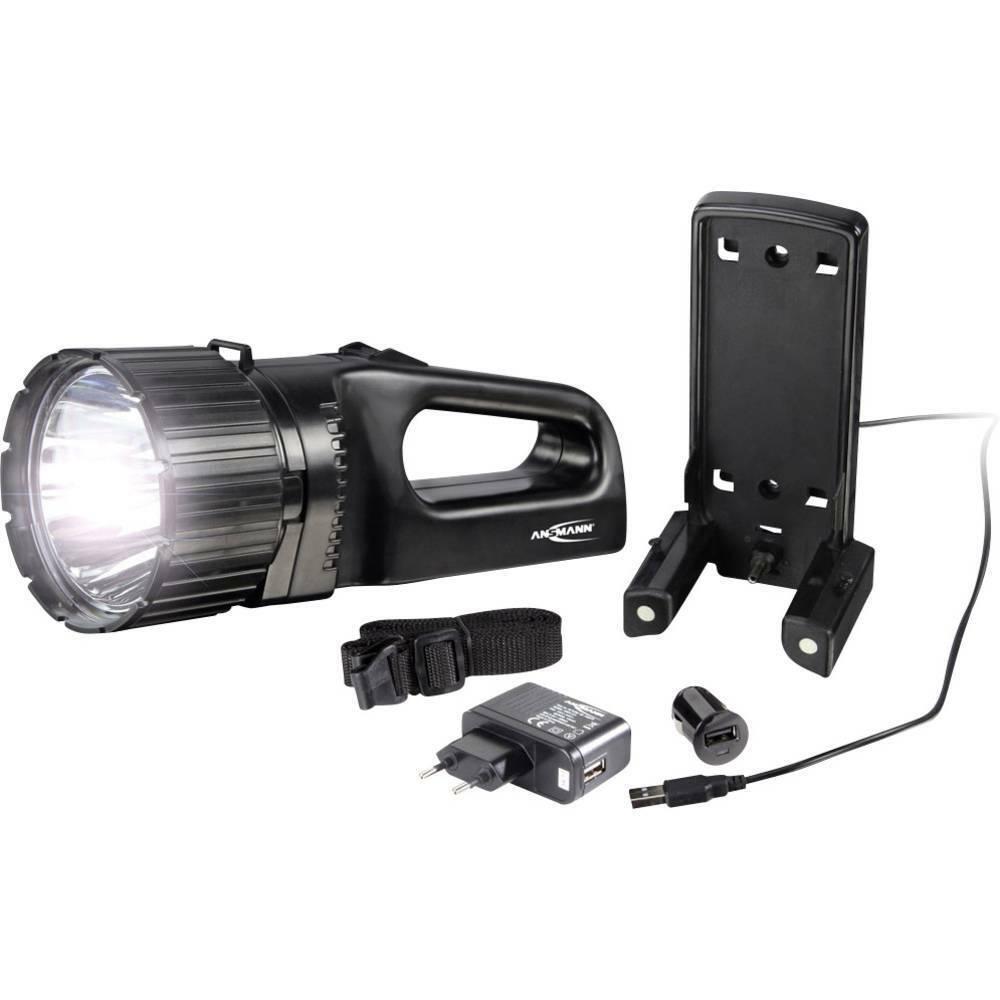 Ansmann LED Akku-Handscheinwerfer AS10 LED Set 328 lm 1600-0237