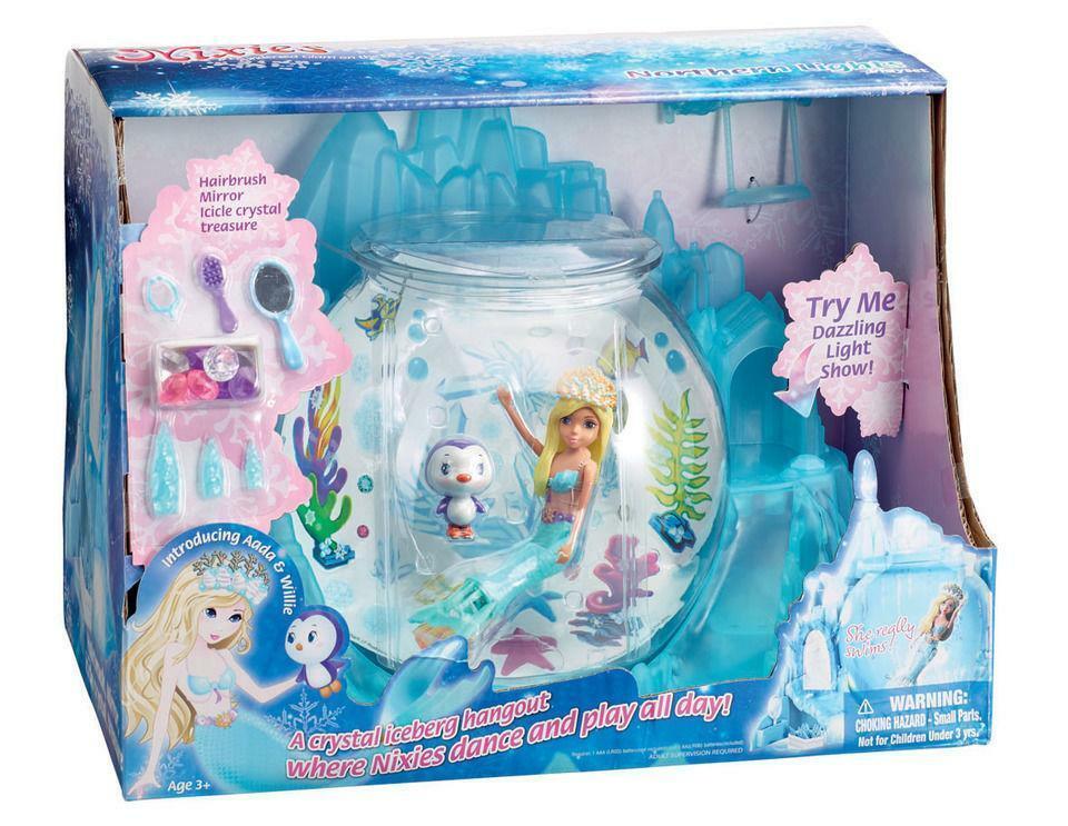 Nixies Swimming Mermaid Northern Lights Playset with Aada - 152293 - New