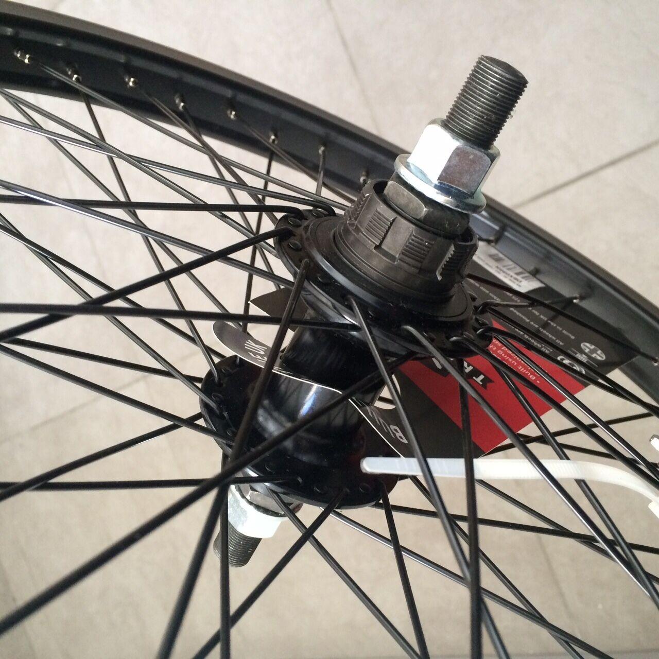 Rad RALEIGH RALEIGH RALEIGH Achse 14mm 48 Speichen Felge BMX Fahrrad Dirt Freestyle neu a46124