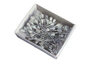 PEARLHEAD CORSAGE PINS TEARDROP HEAD 144 PCS