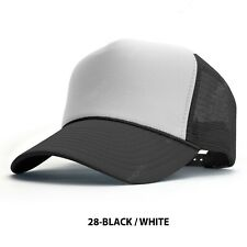 New Black Clover Anniversary PATCH Masters Adjustable White Trucker Snapback Hat
