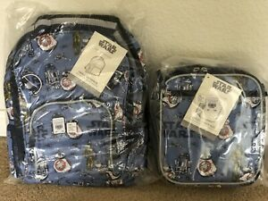 New Pottery Barn Kids Star Wars Droids Small Backpack