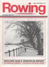 ROWING MAGAZINE - June 1987
