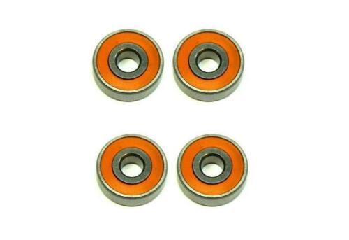 (4) SMR103C 2OS/P58 A7 LD - ABEC-7 HYBRID CERAMIC Orange Seal bearings 3x10x4