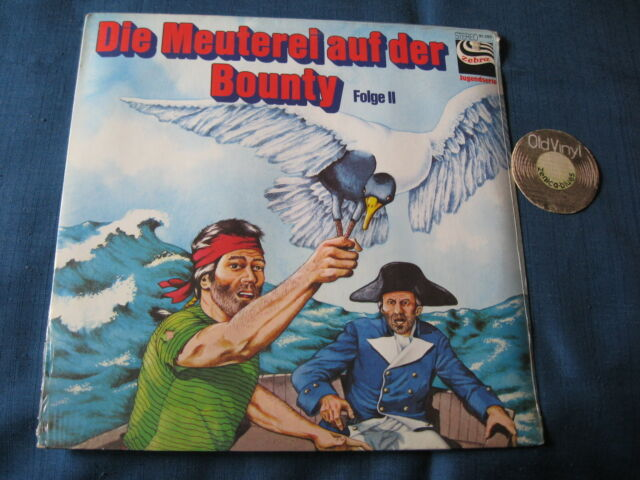 SEALED LP Die Meuterei auf der Bounty Germany | OVP SEALED