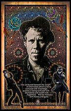 "Tom Waits  - 11x17"" poster (signed by artist) -- vivid colors - very detailed"