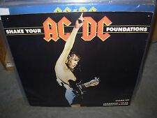 "AC/DC shake your foundations ( rock ) 12"" uk"