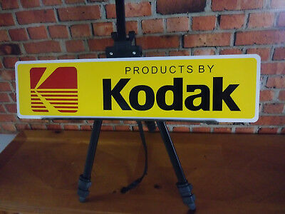 Kodak Products Film Photo Center Retro Reproduction Metal Sign