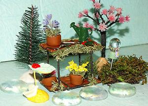 Fairy Garden Starter Set Kit Potting Bench Dollhouse Miniature ) - Deutschland - Fairy Garden Starter Set Kit Potting Bench Dollhouse Miniature ) - Deutschland