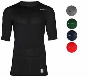 Nike-Men-039-s-Dri-Fit-Core-Compression-Half-Sleeve-Training-Shirt