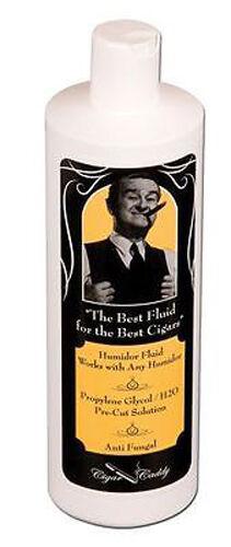 4210 8 oz Cigar Caddy Propylene Glycol Solution Humidor Fluid for Humidifier