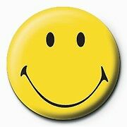"""One Happy Homo Badge Button Pin 1.25/"""" 32mm Gay Lesbian Pride LGBT Smiley"""