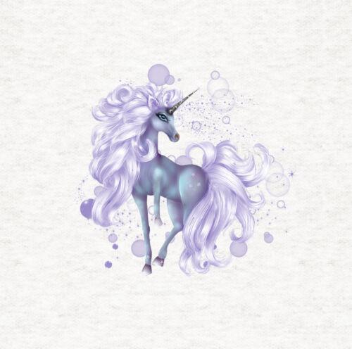 Unicorn Purple Magical Unicorn Fabric Cushion //Upholstery Craft Panel