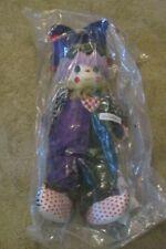 "Precious Moments Christmas 12/"" Doll Ho Ho Hobo Clown Doll"
