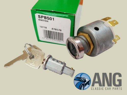 BARREL /& 2 KEYS GT6 I-II LUCAS IGNITION SWITCH 127651 TRIUMPH SPITFIRE I-III
