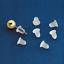 Pack-of-100-x-Rubber-Earring-Back-Backs-Backing-Backings-Stops-Posts-Findings thumbnail 2