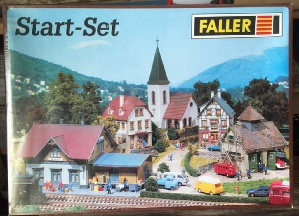 FALLER  START SET  HO HO HO 80 SEALED IN BOX  | Zürich Online Shop