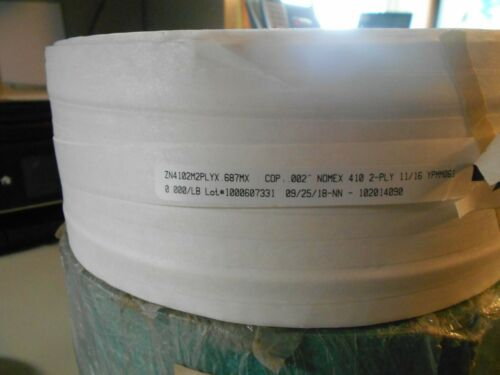 Dupont Nomex 410  Insulated paper ZN4102M2PLY .687 410 2PLY 11//16 YPMM061