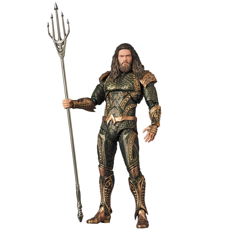 Medicom Juguete Figura No.061 Figura Aquaman Liga De La Justicia Figuras De Acción Con Seguimiento