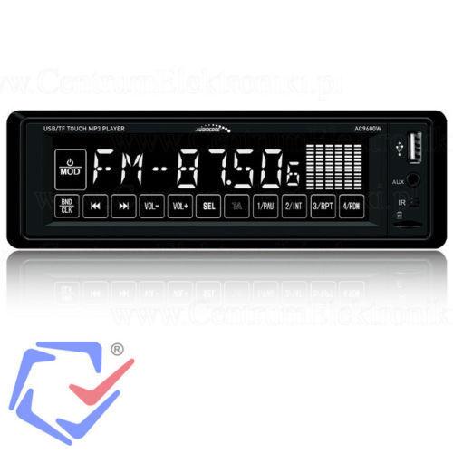 Radio RDS coche Bluetooth Pantalla táctil MP3//USB//SD//MMC 16GB 4x25W Manos libres