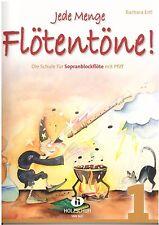 Blockflöte Noten Schule : Jede Menge Flötentöne 1 - (Ertl) - Anfänger