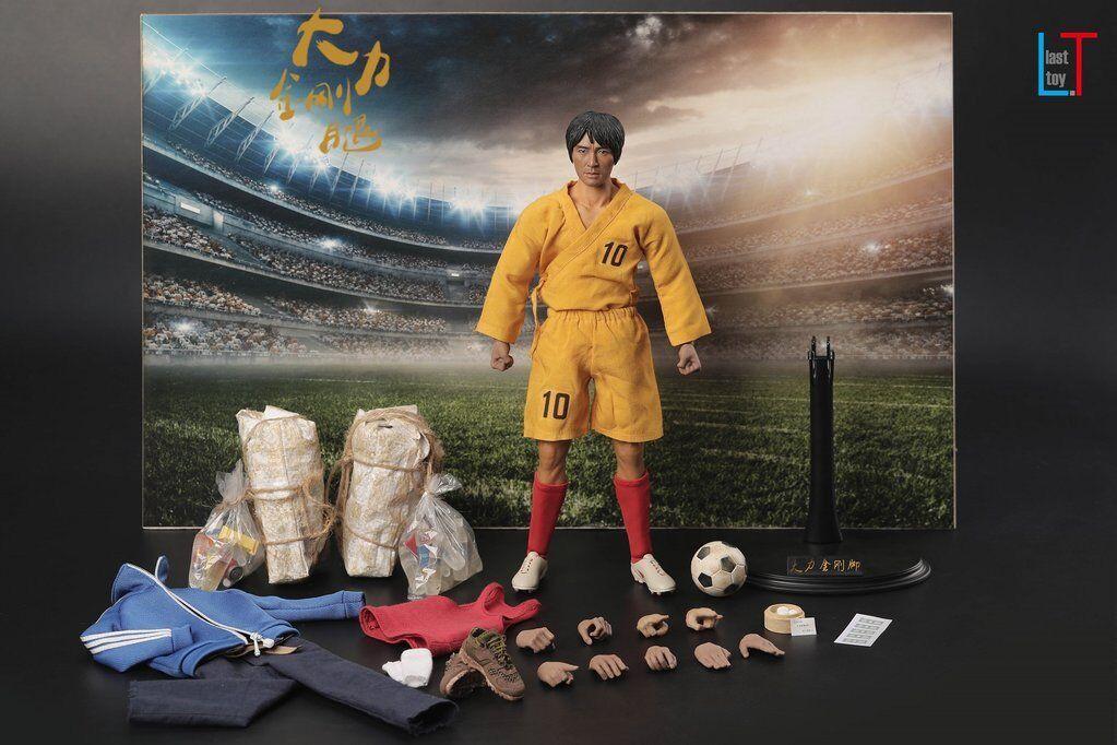 1/6 Last Toys Shaolin Shaolin Shaolin Soccer Mighty Steel Leg Sing Stephen Chow 少林足球 Figure cb1956