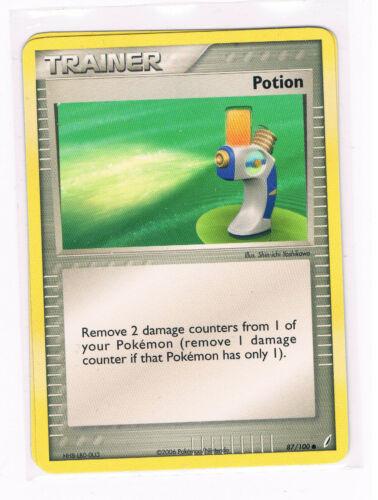 POKEMON EX CRYSTAL GUARDIANS POTION CARD 87//100 FREE P/&P