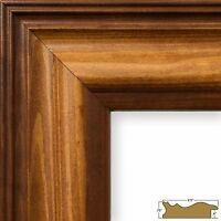 Craig Frames Colonial, Brown Wood Picture Frame