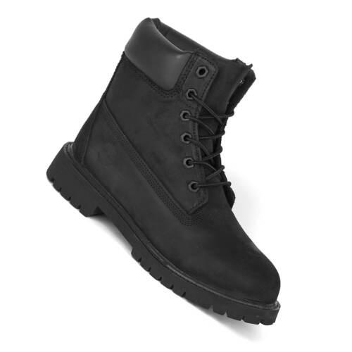 Stiefel Premium Boot Damen Inch Nubuk Black Junior Timberland Kinder 6 Schwarz RHgxPx