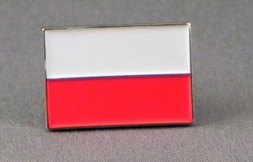 Pin Badge 20mm Gift BRAND NEW Polish Flag Enamel /& Metal Lapel Poland