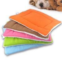 1pc Warm Soft Pets Dog Cat Puppy Bed Sofa House Mat Nest Cushion Fleece 2 Colors