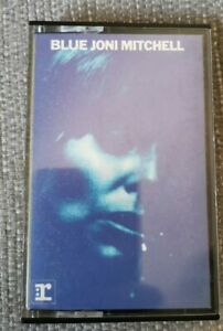 Joni Mitchell Blue album paper label Cassette tape