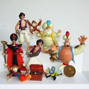 Utiliza-Disney-Aladdin-Figura-de-accion-paquete-Mattel-1993-Genie-Jafar-Sultan-Lampara