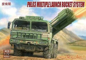 Modelcollect 1/72 Kits PHL03 Multiple Launch Rocket System UA72110
