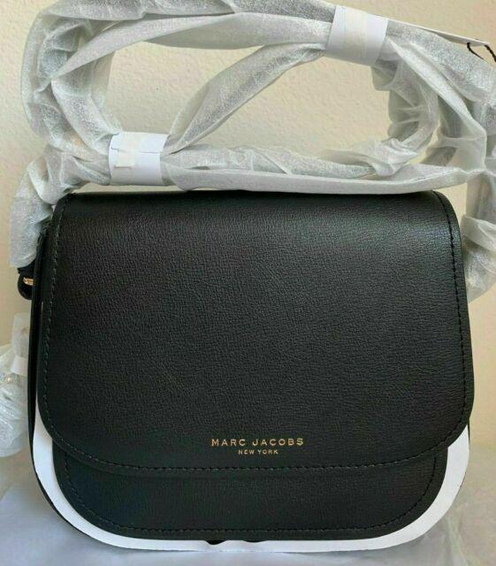 NWT Marc Jacobs Mini Rider Leather Crossbody Bag $295 Black Original Packaging