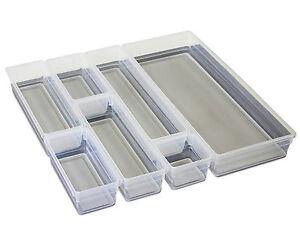 Schubladeneinsätze ondis24 schubladeneinsatz set sistemo schuladenboxen besteckeinsatz
