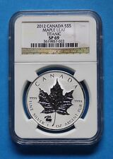 CANADA - 2012 NGC SP69 $5 Reverse Proof SML with Titanic Privy