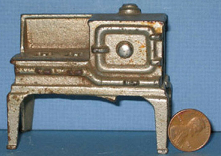 AUTHENTIC & OLD KILGORE NIC IRON GAS TOY STOVE  BEAUTIFUL & NOW ON SALE CI172