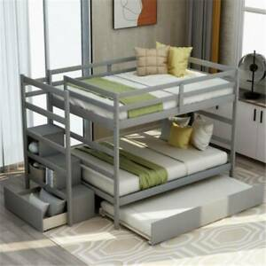 Gray-Stairway-Full-Over-Full-Bunk-Bed-Frame-with-Twin-size-Trundle-and-Drawers