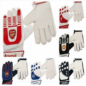 LICENSED-GOALY-FOOTBALL-CLUB-GOALKEEPER-KIT-PADDED-GOALIE-GOAL-GLOVES-SPORTS