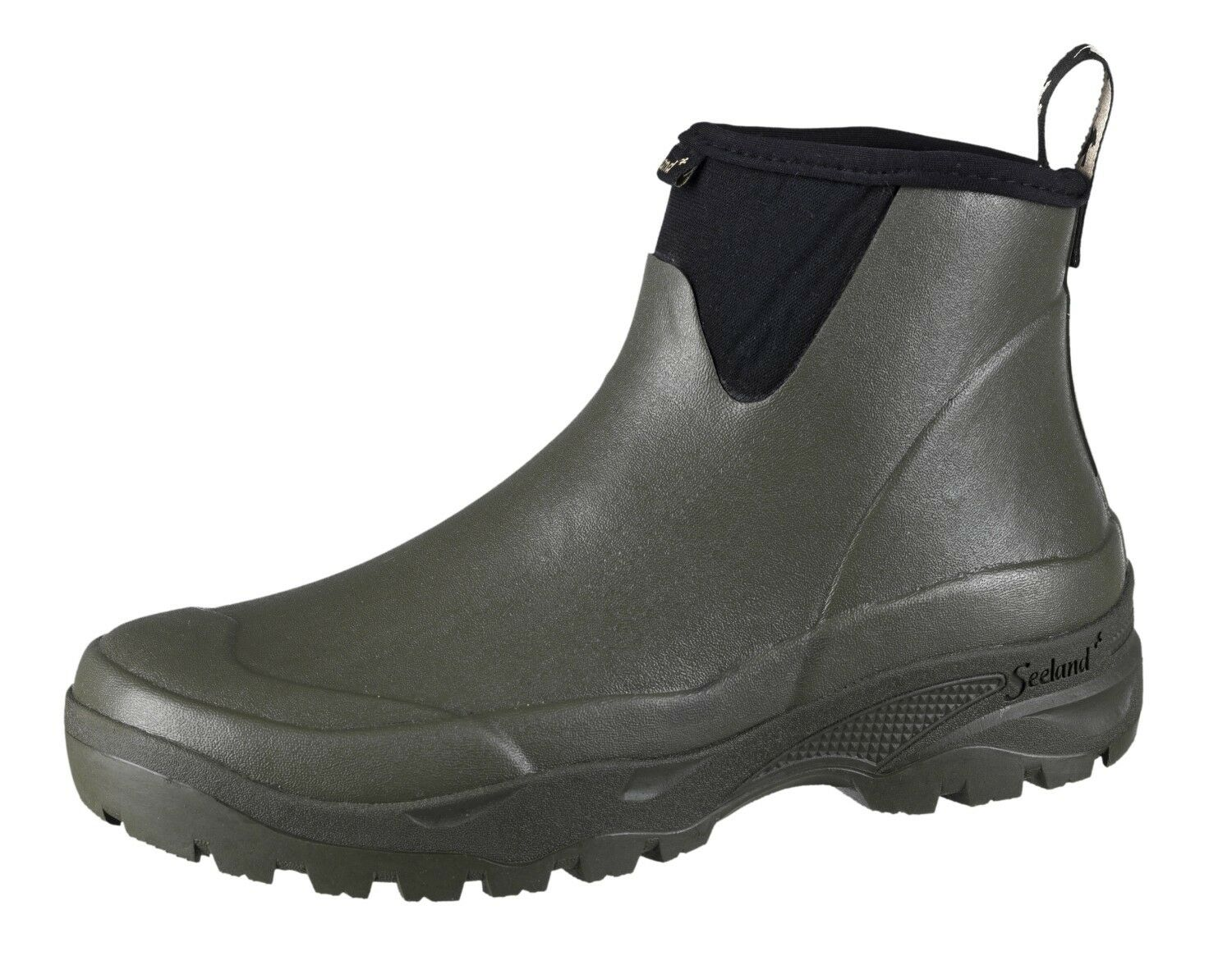 Seeland Rubber shoes Rainy Men - Dark Green - 4 mm Neoprene