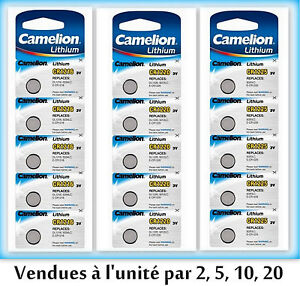 Piles-battery-boutons-lithium-CR2032-2025-2016-Camelion-Free-Shipping