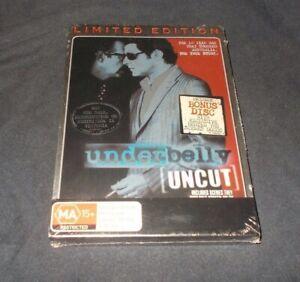 Underbelly-uncut-steelbook-DVD-Brand-new-amp-Sealed-Region-4