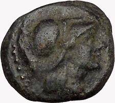 Antigonos II Gonatas Macedonian King Ancient Greek coin Athena PAN Cult  i43354