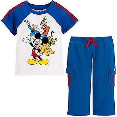Disney Mickey Mouse An Original Since 1928 Tee /& Shorts Set for Baby 0-3 Months