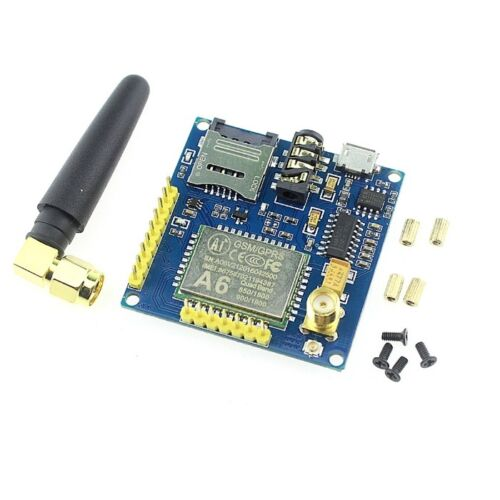 GPRS Pro Serial A6 GPRS GSM Module Core DIY Developemnt Board Replace SIM900 K9
