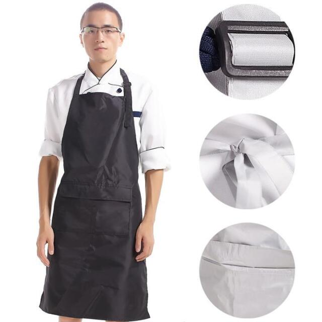 Special Offer New Paragraph Chef Adjustable PVC Waterproof Home Work Aprons