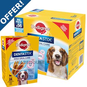 Pedigree-Dentastix-Dental-Dog-Oral-Chew-Treat-Small-Med-Large-56-or-28